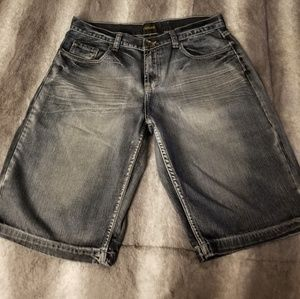 Men's Helix denim shorts